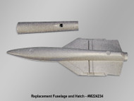 FUNJET ULTRA FUSELAGE AND HATCH