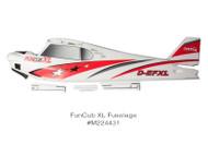 FUNCUB XL RR FUSELAGE W/DECAL (NO SERVOS)