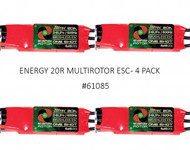 ENERGY 20R MULTIROTOR ESC (4 PACK)