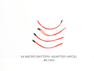 X4 MICRO BATTERY ADAPTER (4PCS)