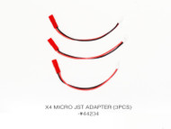 X4 MICRO JST ADAPTER (3PCS)
