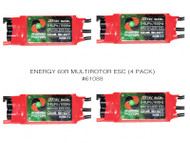 ENERGY 60R MULTIROTOR ESC (4 PACK)