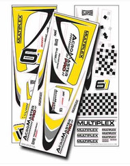 ACROMASTER PRO DECALS (YELLOW)