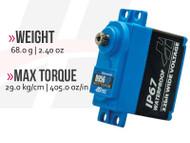 D956WP 32-Bit, High Torque, Waterproof, Steel Gear Servo