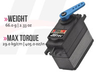 D955TW 32-Bit, High Torque, Titanium Gear Servo