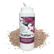 Scatter® odor control granules for trash and garbage.