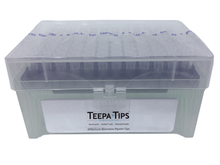 Teepa™ Tip 200uL Low-Retention Pipette Tip, Racked, Sterile, Graduated, NoStick®, 5 packs of 960 (4800 tips)
