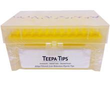 Stellar Scientific Teepa Tip 200uL Filter Pipette Tip - Closed Box - New Yellow Wafers