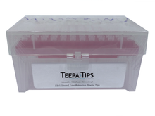 Teepa™  pipette tip 10µl XL, Racked, Sterile, Filtered, NoStick®, 5 packs of 960 (4800 tips)