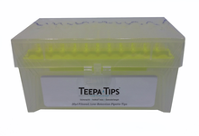 Teepa™ Tip 20µl Low-Retention Pipette Tip , Racked, Sterile, Filtered, NoStick®, 5 packs of 960 (4800 tips)