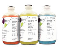 ChemPure buffer solution combination set, 500 mL  each of  pH 4, 7 and 10