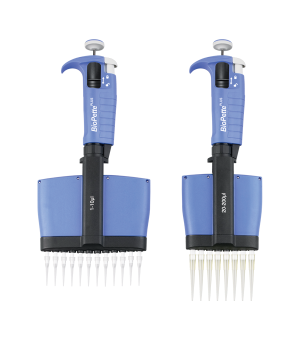 Labnet P4808-10 8 Channel Multichannel Pipette for use with universal pipette tips