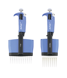 Labnet Biopette P4812-50 Plus 12 Channel lightweight Multichannel Pipette for use with universal pipette tips