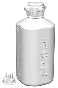 2L HDPE Heavy Duty Vacuum Bottle, EA