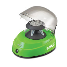 SPROUT® Mini-Centrifuge for micro-tubes, GREEN, 100-240VAC with four plug adapters