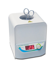 150 gram capacity glass microbead heat sterilizer for small laboratory tools. Digital controlled heat settings.