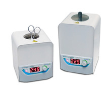 300 gram glass micro bead heat sterilizer for small lab equipment. Digital controls to change temperature.