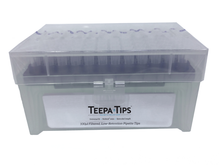 Teepa™ Tip 100µl Low-Retention Pipette Tip, Racked, Sterile, Filtered, NoStick®, 5 packs of 960 (4800 tips)