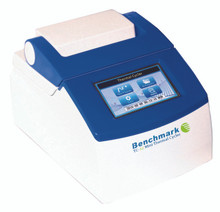 Benchmark Scientific TC32 Touch Screen Thermal Cycler with 32 x 0.2mL tube capacity. Holds Tubes and Strip Tubes. Set up robust protocol runs with a few simple steps.