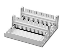 E1101-CS1 casting set For Accuris MyGel Mini DNA Gel Box, for 10 by 6 cm gels, includes two trays and two combs - Electrophoresis Supplies - Stellar Scientific
