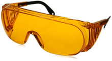 Front Angle view of our Orange Goggles