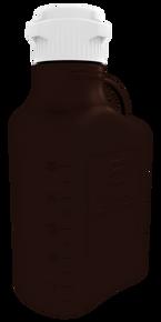 5L (1 Gal) Dark Amber PP Carboy with 83mm Cap