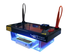 Blue LED Light Transilluminator for Real Time DNA Migration Viewing