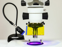 NIGHTSEA™ Fluorescence Viewing System with Royal Blue with Dimmer Base