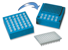 CoolCube™  benchtop sample chiller for 35x1.5 or 96 x .2/1 PCR plate