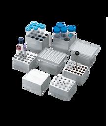 Dry Bath Block, 24 x 1.5 ml tubes - For the Labnet AccuBlock™ Digital Dry Bath, 1/EA