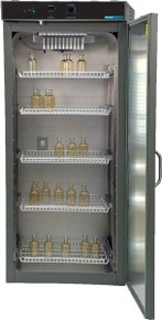 Shel Lab SRI20P Peltier Cooled BOD Laboratory Refrigerated Incubator. Shown with door open