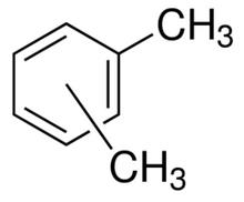 Xylene, ACS Grade, Glass Bottle, 4L