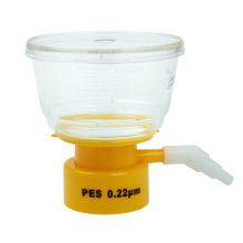 CellTreat Brand Vacuum Filtration Tops, 150mL, .22 micron low-protein binding PES membrane for sterilizing lab media and buffers 229715