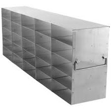 UF-552 freezer rack for 25 freezer boxes.