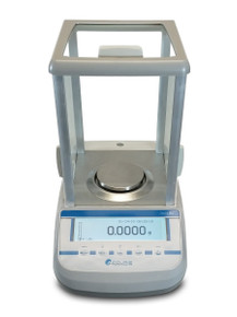 220 Gram Analytical Balance with Internal Calibration and Touch Screen Controls.