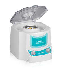 Labnet Z100A C0100-A Benchtop Clinical Centrifuge with 6 x 15mL rotor for blood and urine tubes.