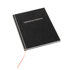 Laboratory Notebook, 100-pages, Grid, Black - Each