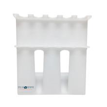Stellar Scientific acrylic pipette stand for single and multi-channel pipettes