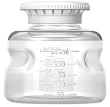 Foxx Life Sciences 250mL Polystyrene Media Bottle, Sterile, 24/CS