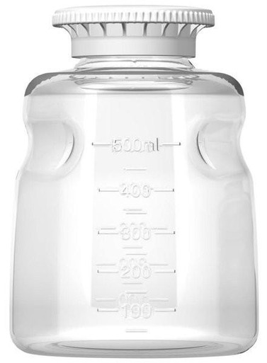 Foxx Life Sciences 500ml Polystyrene Media Bottle, Sterile