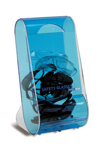 ClearlySafe® Safety Glasses Dispenser for 20 Glasses, 1/EA