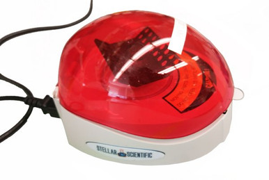 Benchmark Scientific MyFuge Mini Benchtop Centrifuge with Two Rotors - Red Lid