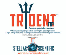 The Trident tip™ 10uL pre-racked, sterile micropipette tip - 960/PK, 4800/CS