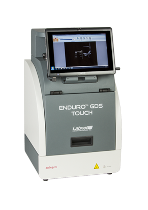 Labnet Enduro GDS Touch Gel Documentation System all in one transilluminator and camera with touch screen settings and viewing