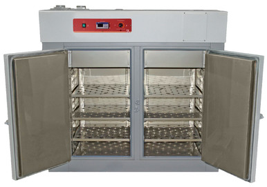 Shel Lab High Performance Forced Air Laboratory Oven (SMO14HP-2), 10 Cu Ft, 230V - Shown with Open double doors