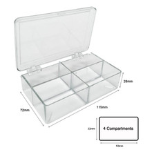 Four Chamber Blot Box for Western Blots, Protein Gels and other Blotting