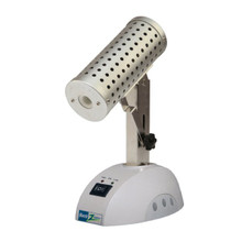 Benchmark Scientific B1001 Bacti-Zapper Tilt Infrared Benchtop Micro Sterilizer - shown with Head Tilted Down