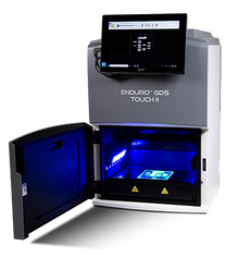 Labnet ENDURO GDST II - Second generation DNA gel documentation system with built in touch screen tablet and software for imaging gels.