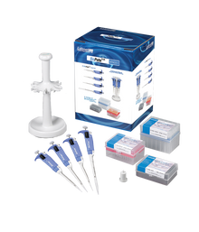 BioPette™ Plus Four Pack Starter Pipette Kit by Labnet - Special Sale Priced