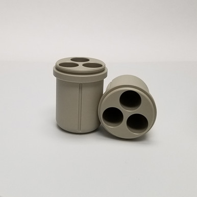 50mL Insert for the Z250-A250 4 x 250mL Capacity Swing-Out Rotor Z366-250-A50 for Hermle Universal Centrifuges. Comes in packs of two - Total Capacity is 12 x 50mL tubes
